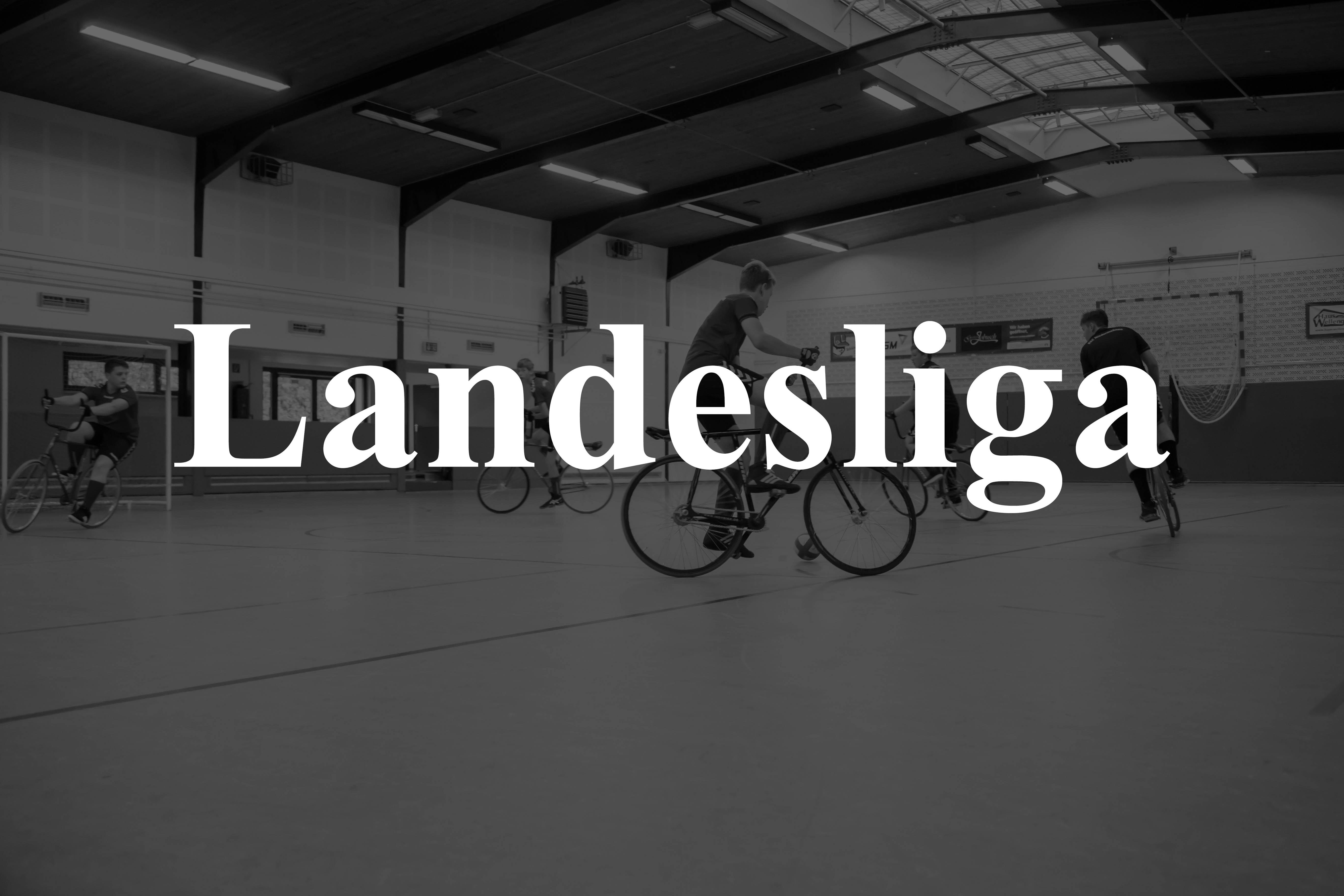 Radball Landesliga Spieltagslogo
