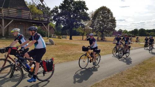 2018-08-10 Radtour der Herrensportler - Geschafft