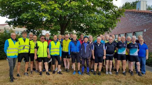 2018-08-10 Radtour der Herrensportler - Start