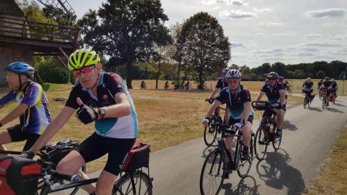 2018-08-10 Radtour der Herrensportler - Zieleinlauf
