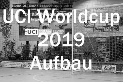 Aufbau UCI Worldcup
